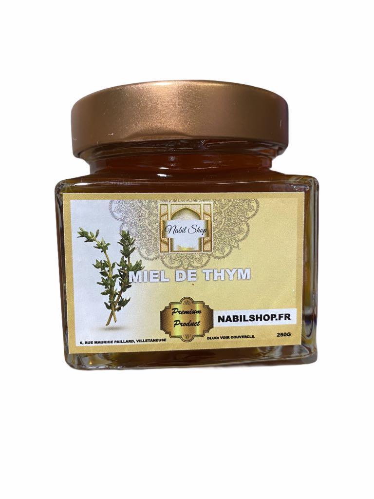 Le Miel de Thym de montagne est renommé pour son parfum arômatique unique. La saveur puissante de ce nectar fait écho à la fleur de Thym