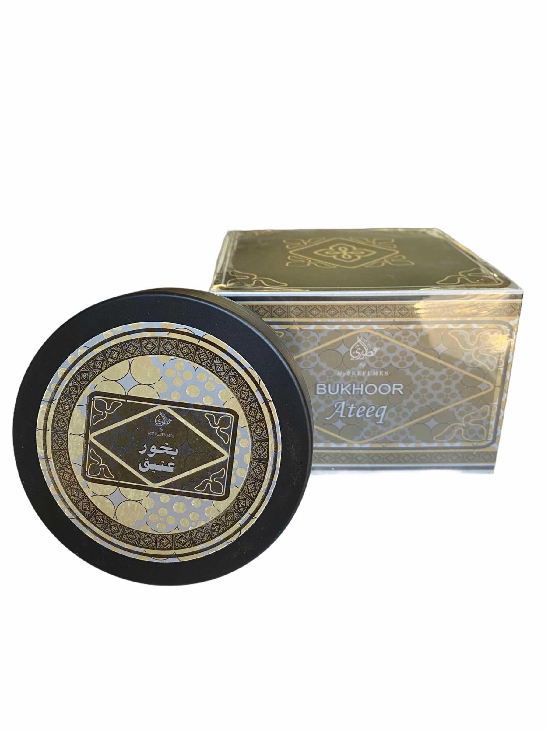 Bukhoor Ateek - My Perfumes à base de Oud d'excellente qualité en provenance direct de Dubai sou forme de petit palet ronds à effriter