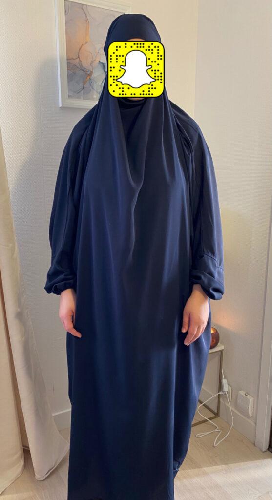 Jilbab Une Pièce Couleur au Choix Très pratique pour femme musulmane idéale pour faire la prière facile à mettre taille unique