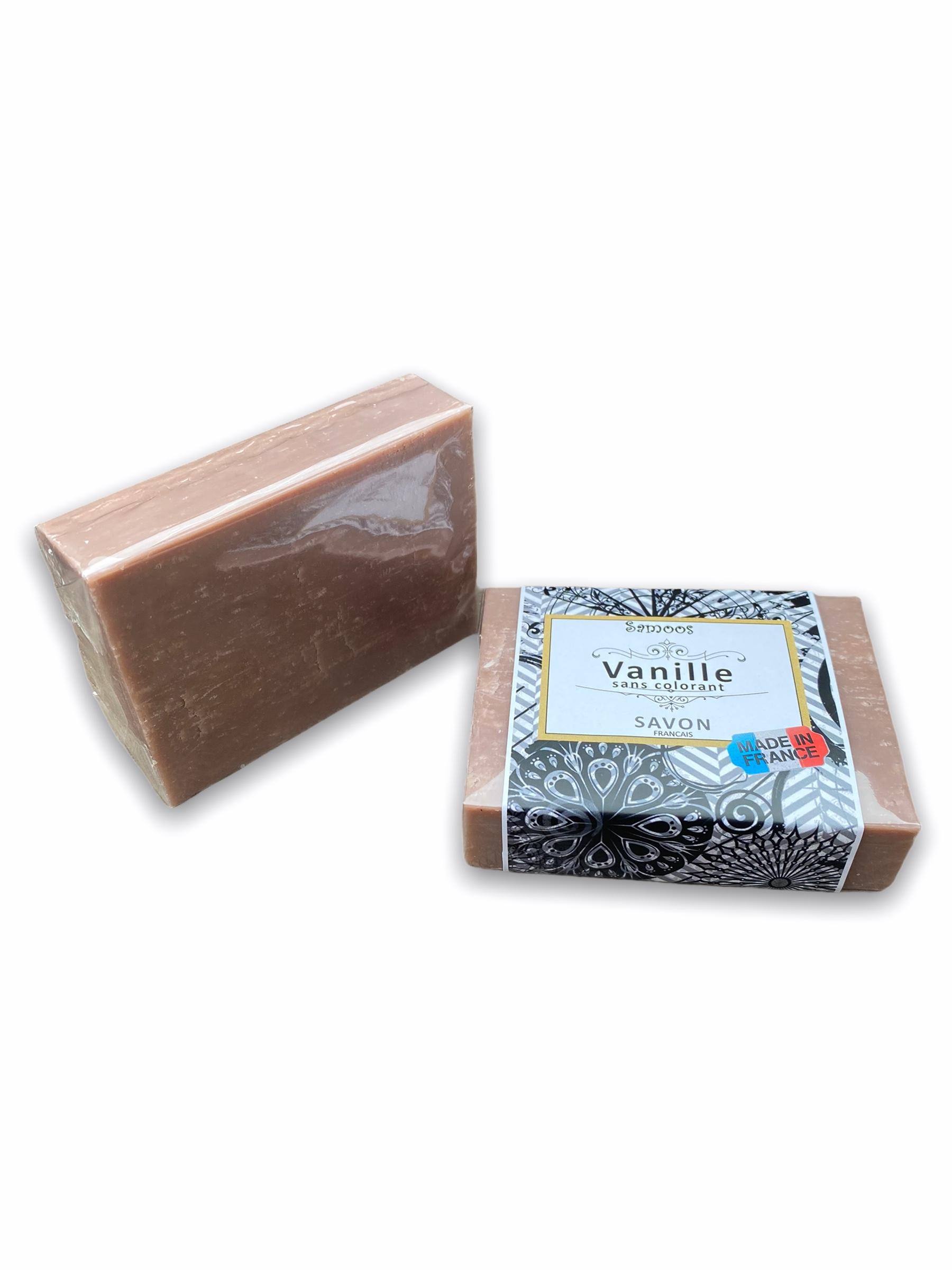 Savon Vanille Sans Colorant Profitez d'un moment de bien-être lors de son utilisation et profitez de son délicat parfum