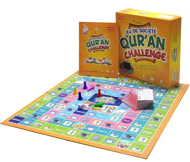 Jeu de Société Quran Challenge - Orientica est un jeu unique basé sur le Livre Sacré et qui vise l'amusement à la fois ludique et éducatif