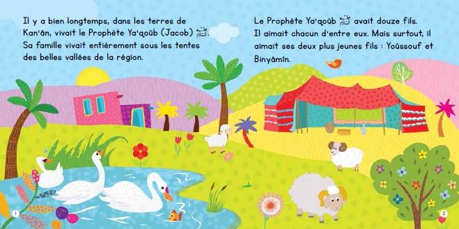Ce livre cartonné richement illustré introduit aux enfants l'histoire inspirante du Prophète Yoûssouf (Paix sur lui).