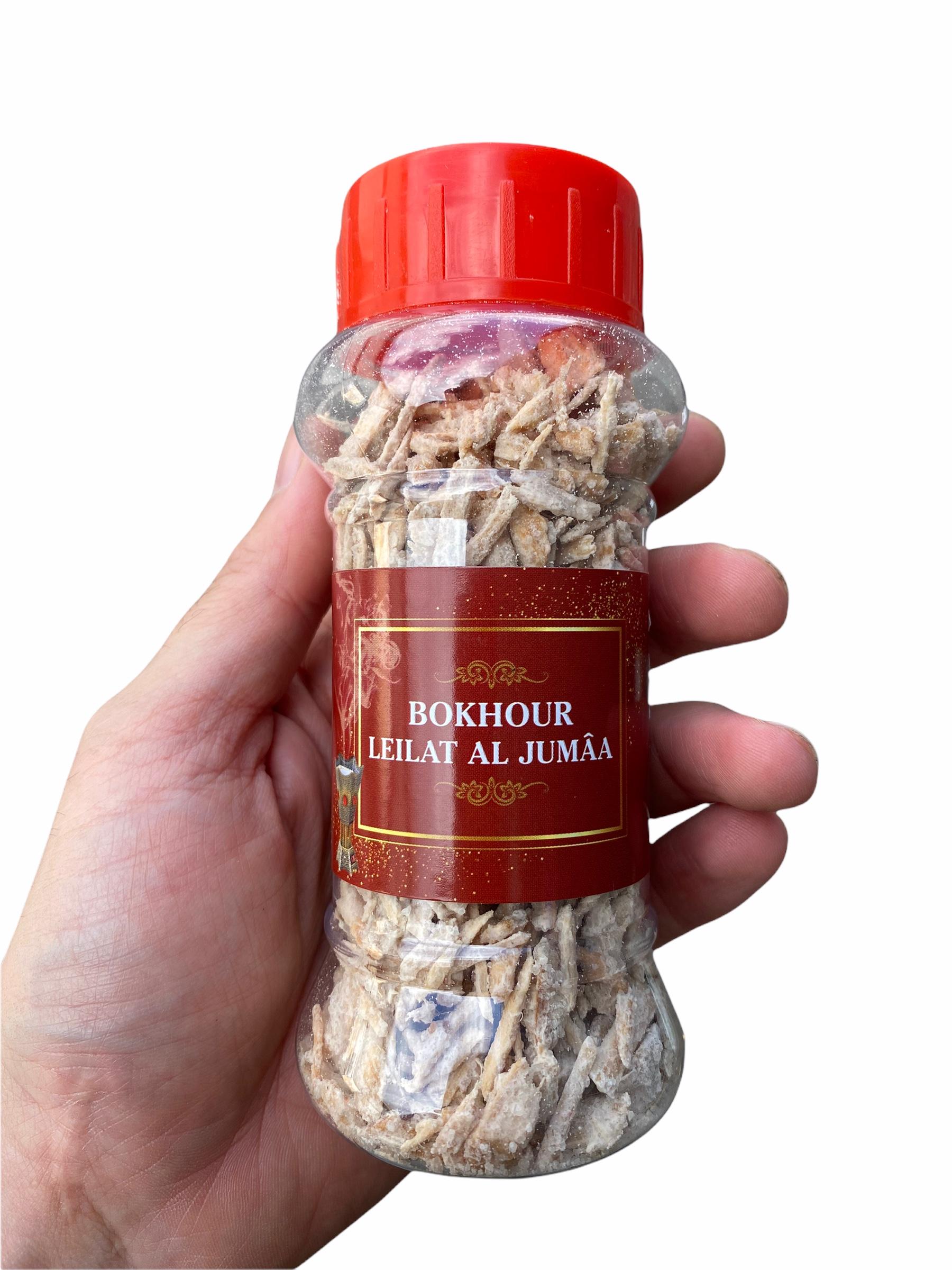 Bokhour Leilat Al Jumâa Encens Oriental avec une très bonne odeur à utiliser avec un encensoir charbon ou alors directement à la poêle.
